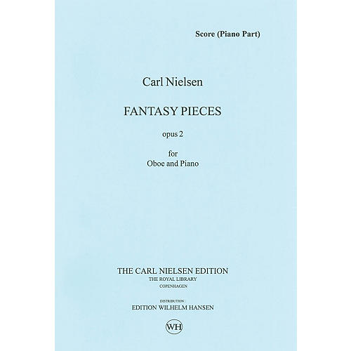 Wilhelm Hansen 2 Fantasy Pieces Op 2 (Oboe and Piano) Music Sales America Series-thumbnail