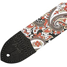 Fender 2' Guitar Strap Red 2 in.