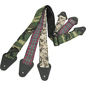 perri 39 s 2 guitar strap with fabric design camouflage musician 39 s friend. Black Bedroom Furniture Sets. Home Design Ideas