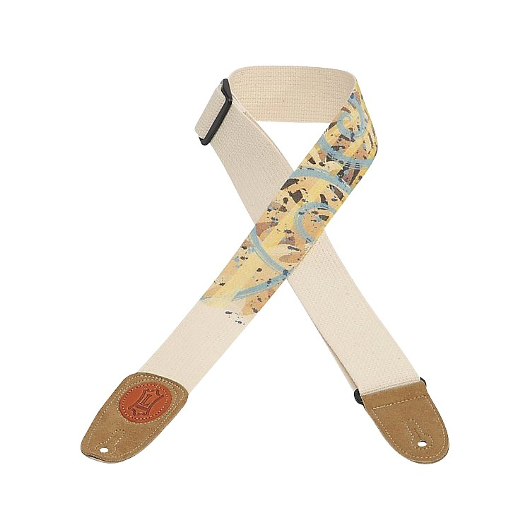 Levy's 2 In Guitar Strap Cotton Urban