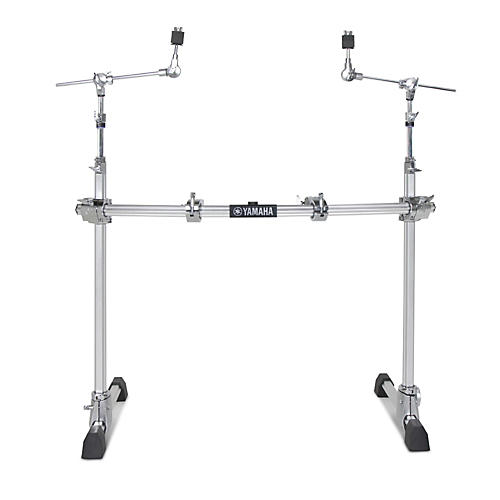 Yamaha 2-Leg Hexrack with Hexagonal Curved Pipe and Cymbal Boom Arms
