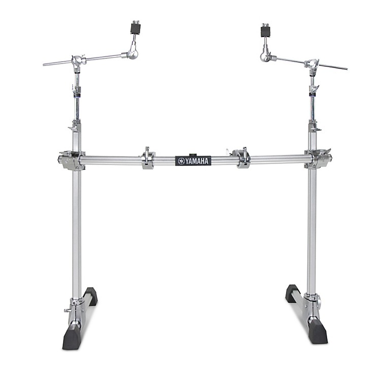 Yamaha2-Leg Hexrack with Hexagonal Curved Pipe and Cymbal Boom Arms