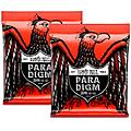 Ernie Ball 2 Pack- Paradigm Skinny Top Heavy Bottom Electric Guitar Strings Bundle thumbnail