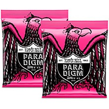 Ernie Ball 2 Pack- Paradigm Super Slinky Electric Strings Bundle