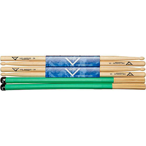 Vater 2 Pairs of 5A's and a Bamboo Splash-thumbnail