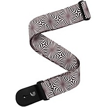 "D'Addario Planet Waves 2"" Polyester Guitar Strap, Optical Art, by D'Addario"