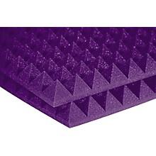 "Auralex 2"" StudioFoam Pyramid 2''x2'x2"" Panels (12 pack) Purple"