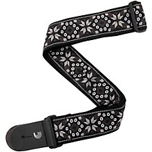 "D'Addario Planet Waves 2"" Woven Guitar Strap, Monterey 4 Black"