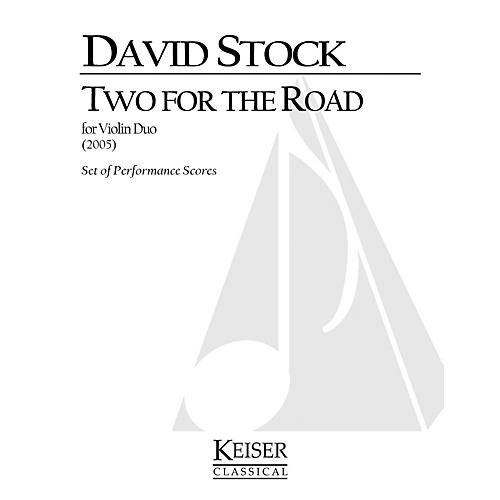 Lauren Keiser Music Publishing 2 for the Road LKM Music Series Composed by David Stock-thumbnail