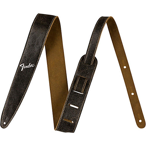 Fender 2 in. Distressed Leather Straps-thumbnail