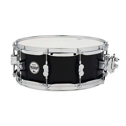 PDP 20-Ply Birch Snare Drum w/Chrome Hardware Black 5.5x14