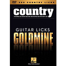 Hal Leonard 200 Country Licks - Guitar Licks Goldmine DVD Series