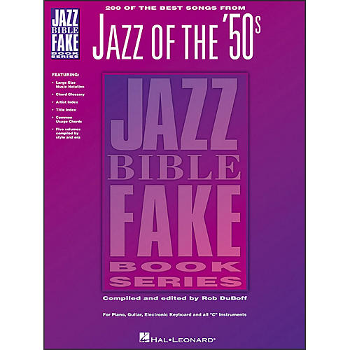 Hal Leonard 200 Of The Best Songs From Jazz Of The 50S Jazz Bible Fake Book Series-thumbnail