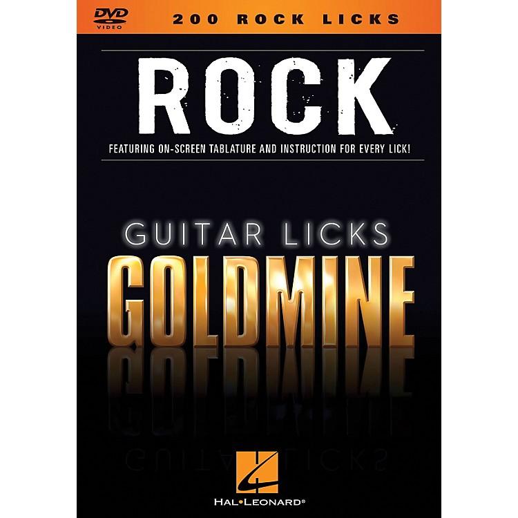 Hal Leonard200 Rock Licks - Guitar Licks Goldmine DVD Series