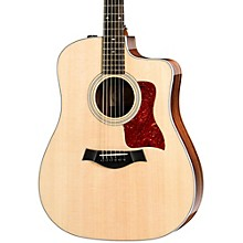 Taylor 200 Series 210ce Deluxe Dreadnought Acoustic-Electric Guitar Natural