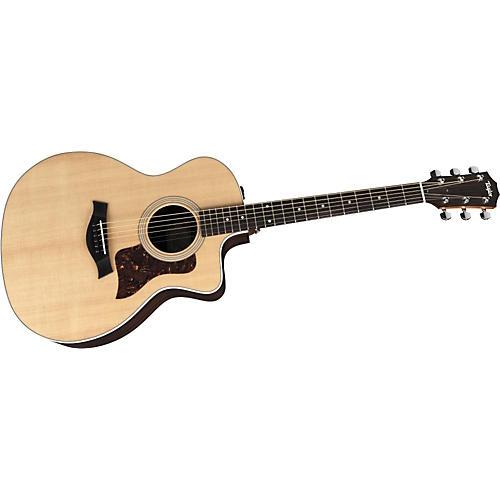Taylor 200 Series 214CE Grand Auditorium Acoustic-Electric Guitar (2010 Model)-thumbnail