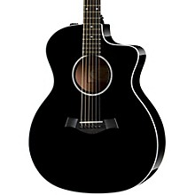 Taylor 200 Series 214ce DLX Grand Auditorium Acoustic-Electric Guitar Black