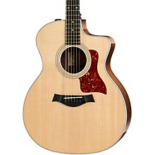 Taylor 200 Series 214ce DLX Grand Auditorium Acoustic-Electric Guitar Natural