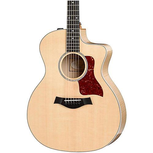 Taylor 200 Series 214ce-FM Deluxe Grand Auditorium Acoustic-Electric Guitar-thumbnail