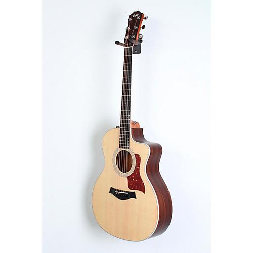open box taylor 200 series 214ce grand auditorium acoustic electric guitar natural 190839106407. Black Bedroom Furniture Sets. Home Design Ideas