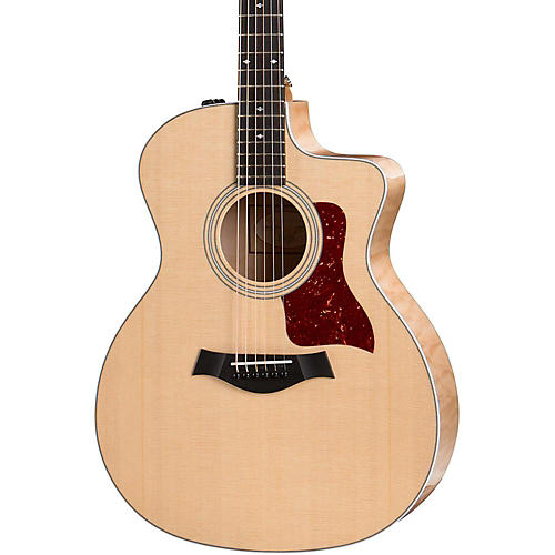 Taylor 200 Series 214ce-QM Deluxe Special Edition Grand Auditorium Acoustic-Electric Guitar