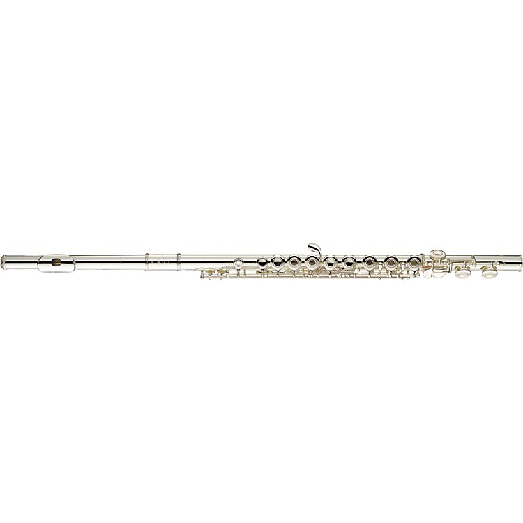 Yamaha 200 Series Open Hole Student Flute YFL-281 C Foot, Inline G