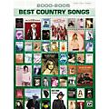 Alfred 2000-2005 Best Country Songs Piano, Vocal, Guitar Songbook  Thumbnail