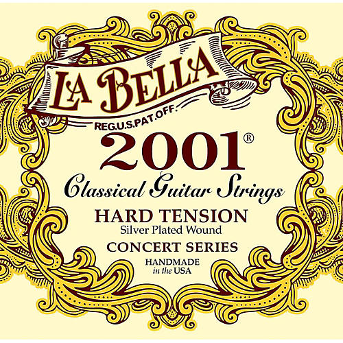 LaBella 2001 Hard Tension Classical Guitar Strings-thumbnail