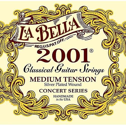 labella 2001 medium tension classical guitar strings musician 39 s friend. Black Bedroom Furniture Sets. Home Design Ideas