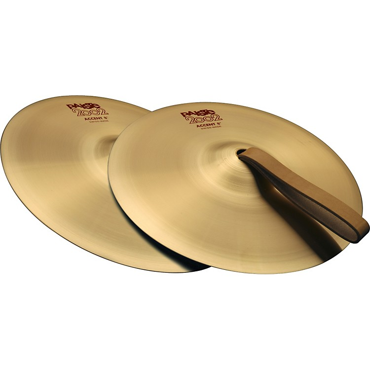 Paiste 2002 Accent Cymbal Pair 4