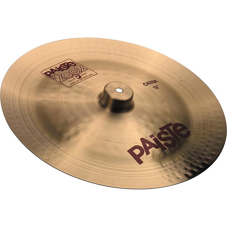 Paiste2002 China Cymbal16