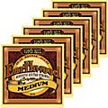 Ernie Ball 2002 Earthwood 80/20 Bronze Medium Acoustic Guitar Strings 6 Pack  Thumbnail