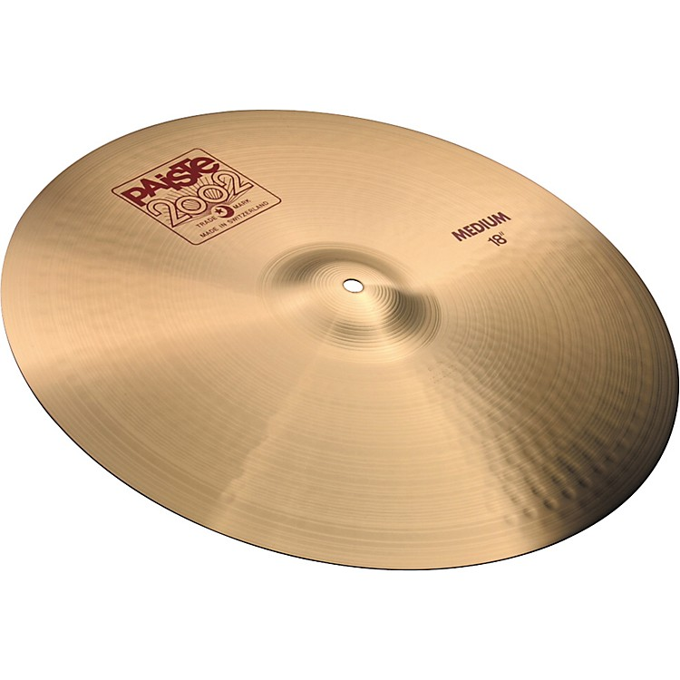 Paiste 2002 Medium Crash Cymbal  18 Inches