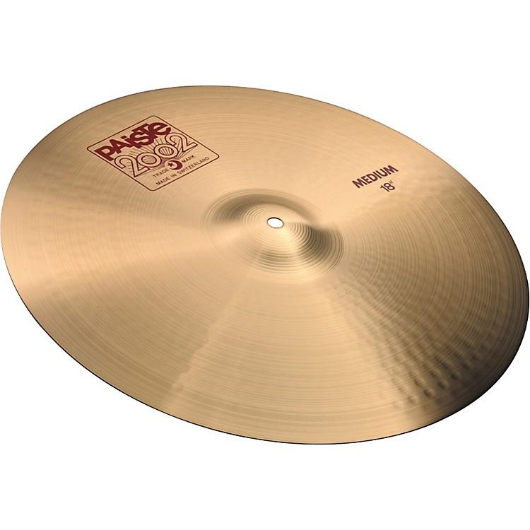 Paiste2002 Medium Crash Cymbal20 Inches