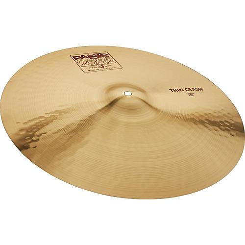 Paiste 2002 Series Thin Crash Cymbal 17 in.