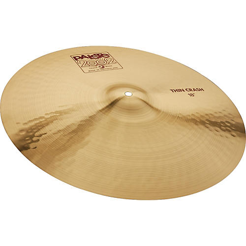 Paiste 2002 Series Thin Crash Cymbal 18 in.