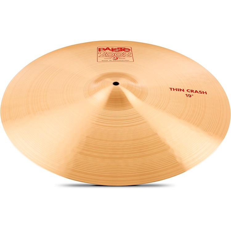 Paiste2002 Series Thin Crash Cymbal18