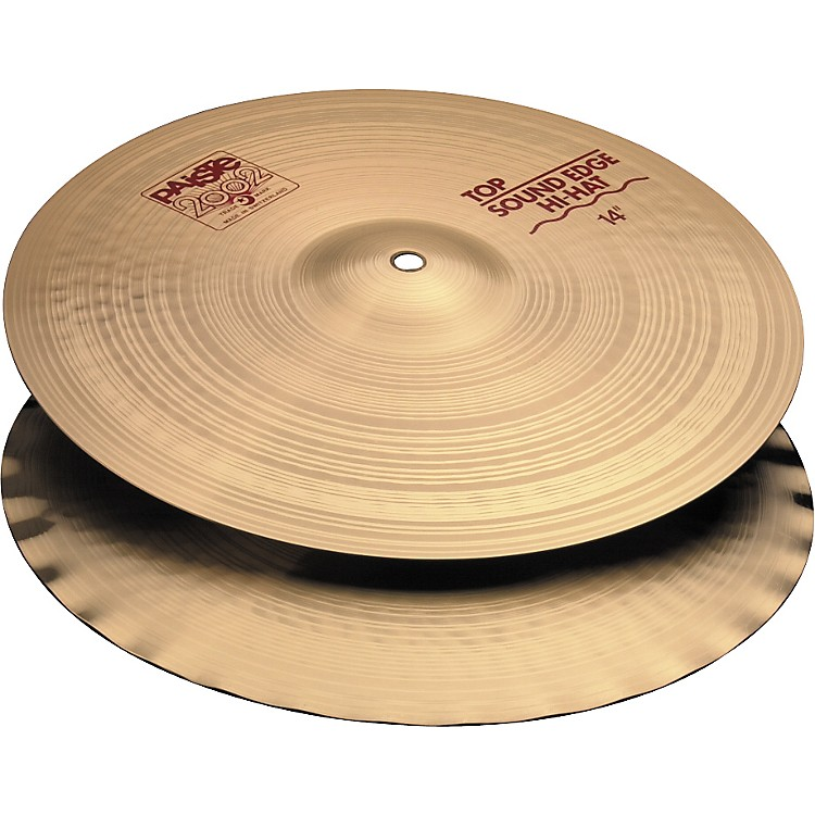 Paiste 2002 Sound Edge Hi-Hats  14 Inches
