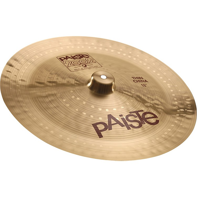 paiste 2002 thin china cymbal musician 39 s friend. Black Bedroom Furniture Sets. Home Design Ideas