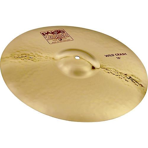 Paiste 2002 Wild Crash Cymbal-thumbnail
