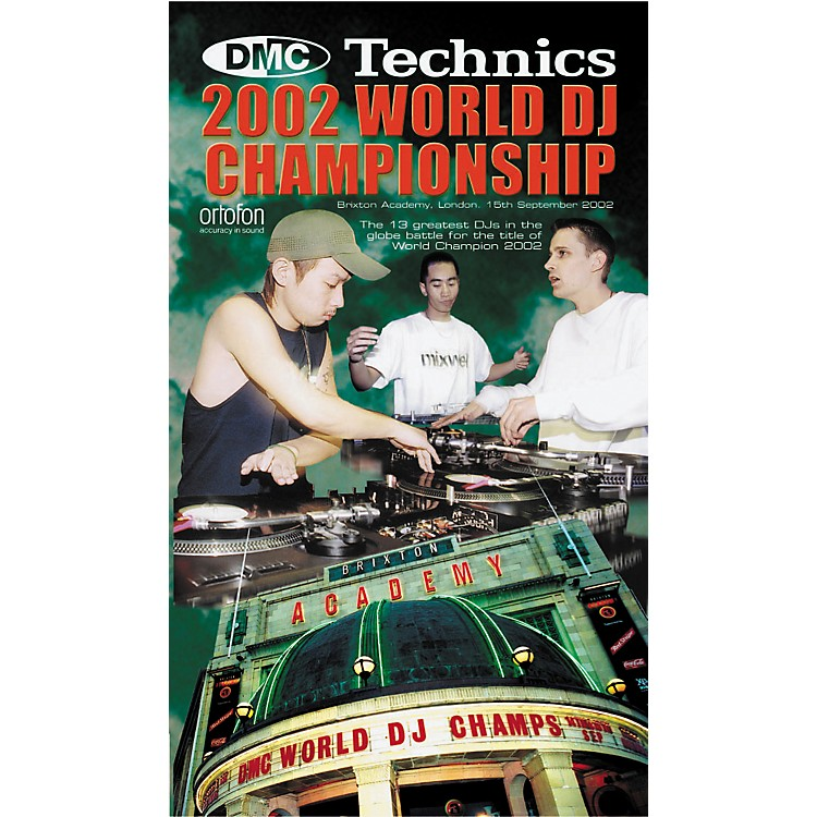 DMC 2002 World DJ Championship DVD