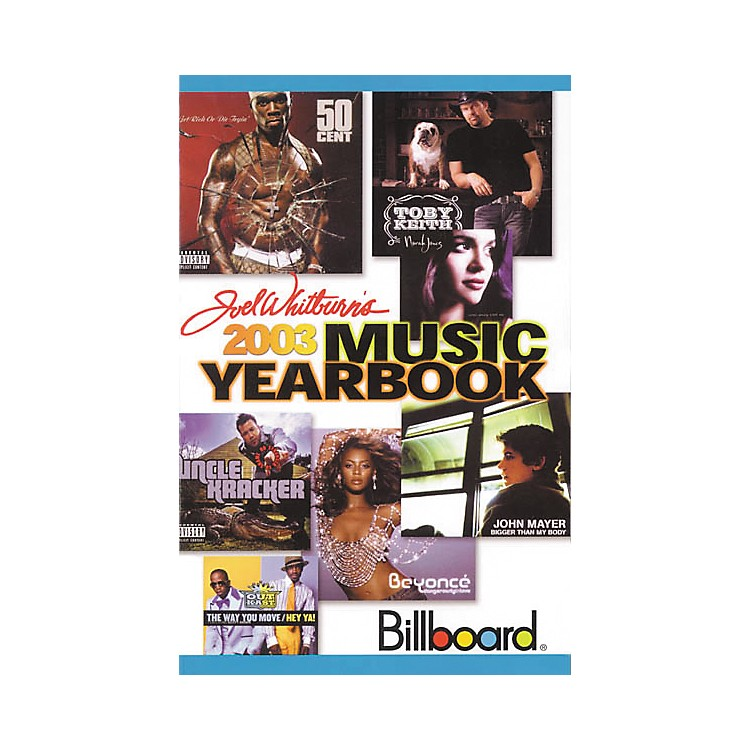 Record Research 2003 Billboard Music (Yearbook)