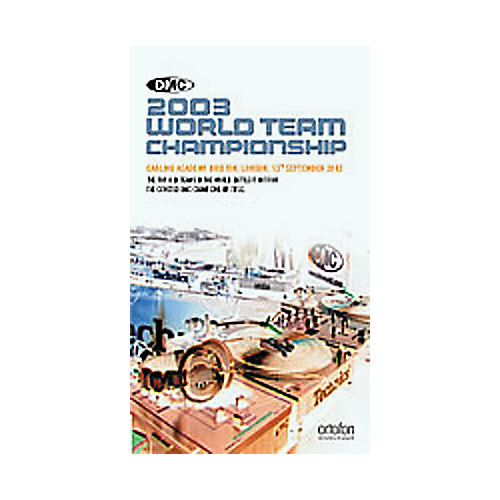 DMC 2003 DJ World Team Championship (DVD)