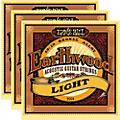 Ernie Ball 2004 Earthwood 80/20 Bronze Light Acoustic Strings (3-Pack)  Thumbnail