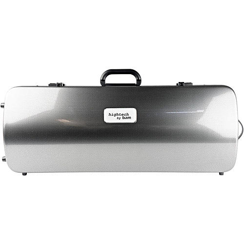 Bam 2005XL Hightech Case for 2 Violins Silver Carbon
