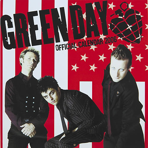 The Card Cafe 2006 Green Day Calendar