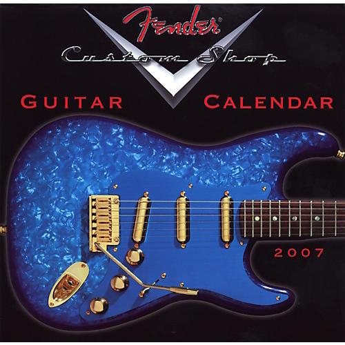 Fender 2007 Custom Shop Mini Wall Calendar