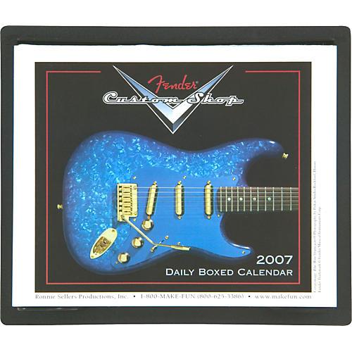 Fender 2007 Custom Shop Page Per Day Calendar-thumbnail