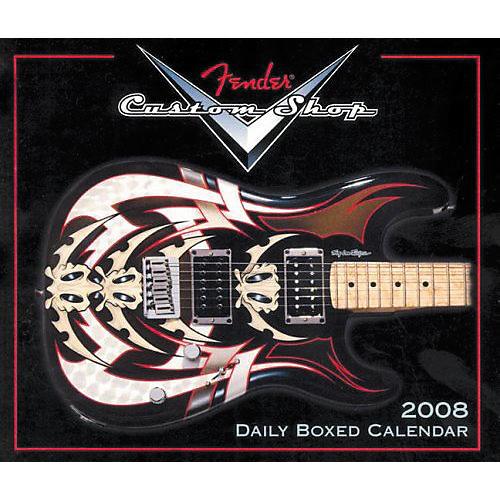 Fender 2008 CUSTOM SHOP DAILY CALENDAR-thumbnail