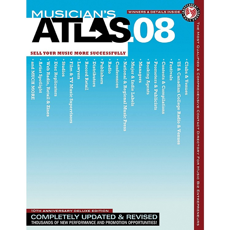 Hal Leonard2008 Musician's Atlas